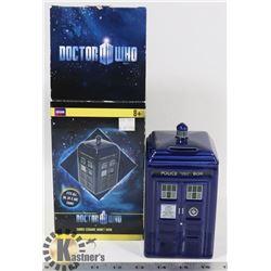DOCTOR WHO TARDIS CERAMIC MONEY BANK.