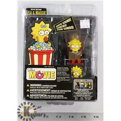 THE SIMPSONS MOVIE MAYHAM LISA AND MAGGIE.