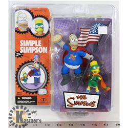 THE SIMPSONS SIMPLE SIMPSON PIEMAN AND THE CUPCAKE