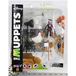 THE MUPPETS DISNEY GONZO & CAMILLA ACTION FIGURES.