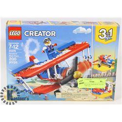 LEGO CREATOR DAREDEVIL STUNT PLANE 200PC SET 31076