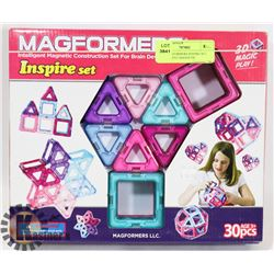 30PC MAGFORMERS INSPIRE SET INTELLIGENT MAGNETIC