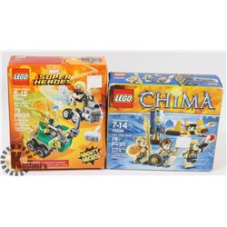 LOT OF LEGO INCL LEGENDS OF CHIMA LION TRIBE PACK