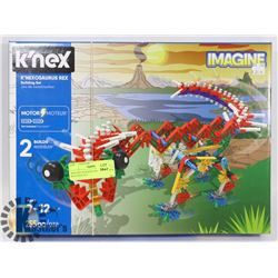IMAGINE K'NEX K'NEXOSAURUS REX BUILDING SET.