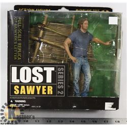 LOST SERIES 2 SAWYER ACTION FIGURE WITH FULL SCALE