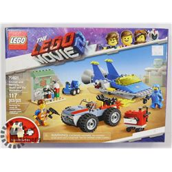 THE LEGO MOVIE LEGO EMMET AND BENNY'S BUILD AND