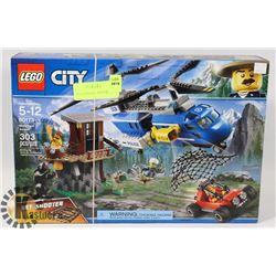 CITY LEGO MOUNTAIN ARREST 303PC SET 60173.