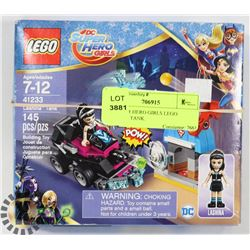DC SUPER HERO GIRLS LEGO LASHINA TANK 145PC SET