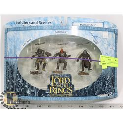 LORD OF THE RINGS MORDOR ORCS, ARMIES OF MIDDLE