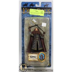 LORD OF THE RINGS GIMLI IN CORONATAION ATTIRE,