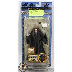 LORD OF THE RINGS SUPER POSEABLE DENETHOR STEWARD