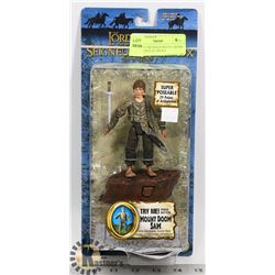 LORD OF THE RINGS MOUNT DOOM SAM WITH ELECTRONIC