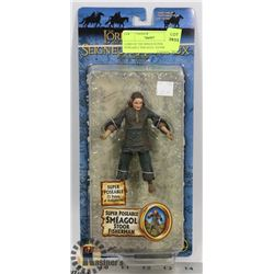 LORD OF THE RINGS SUPER POSEABLE SMEAGOL STOOR