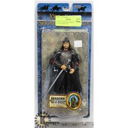 LORD OF THE RINGS ARAGORN KING OF GONDOR WITH