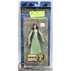 LORD OF THE RINGS ARWEN IN CORONATION GOWN,