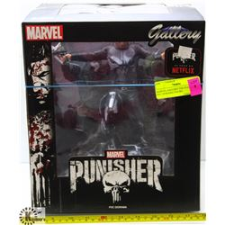 MARVEL GALLERY THE PUNISHER PVC DIORAMA FIGURE.