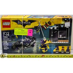 LEGO THE BATMAN MOVIE CATWOMAN CATCYCLE CHASE