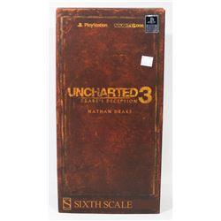 UNCHARTERED 3 NATHAN DRAKE SIXTH SCALE SIDESHOW