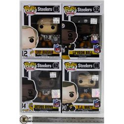 LOT OF 4 ASSORTED FUNKO POPS