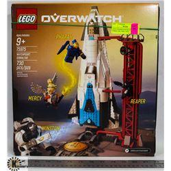 LEGO OVERWATCH WATCHPOINT GIBRALTER 730PC 75975.