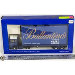 BALLANTINE'S FINEST SCOTCH WHISKY BIG RIG DECANTER