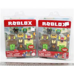 PAIR OF ROBLOX MOUNT OF THE GODS FACTORY SEALED.