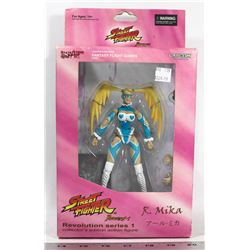 STREET FIGHTER REVOLUTION 1 R. MIKA COLLECTOR'S