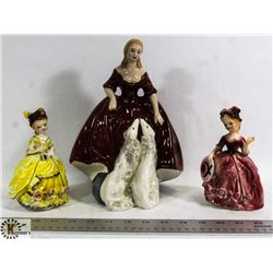 VINTAGE PORCELAIN FIGURINES