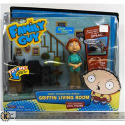 FAMILY GUY GRIFFIN LIVING ROOM CRAZY INTERACTIVE