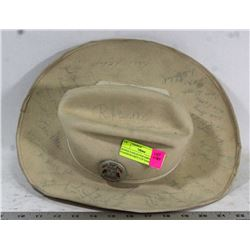 SIGNED VANCOUVER EMPIRE STADIUM GREY CUP GAME HAT