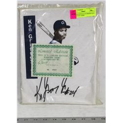 LIMITED EDITION & NUMBERED KEN GRIFFEY JR T-SHIRT
