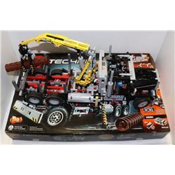 LARGE LEGO TECHNIC LOGGING TRUCK, 1308 PCS