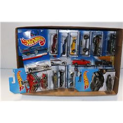 FLAT OF HOTWHEELS COLLECTOR CARS ON CHOICE