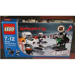LEGO SPORTS NHL SLAMMER STADIUM SET W/ 4 PLAYERS
