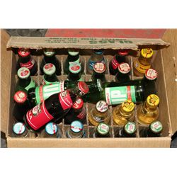 BOX OF 26 UNOPENED VINTAGE SODA - 24 CANADA DRY