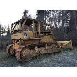 D8H CAT BULLDOZER WITH WINCH (SERIAL#46A19255) (RUNNING)