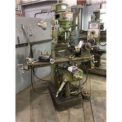 LONG CHANG MACHINING CO MILLING MACHINE MODEL LC7.5TM (2HP,3 PHASE)