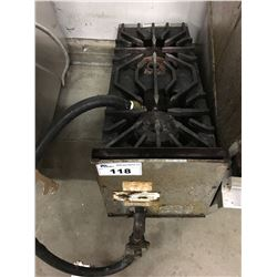"12"" 2 BURNER GAS STOVE"
