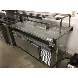 65  REFRIGERATED PREP TABLE