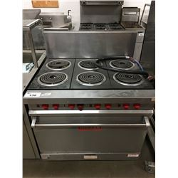 "36"" VULCAN ELECTRIC RANGE"