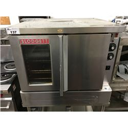 "BLODGETT ELECTRIC OVEN 38"" WITH MOBILE STAND"