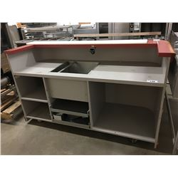 "82"" BAR COUNTER"