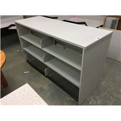 "74"" SHELVING UNIT"