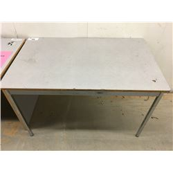 GREY LAMINATE DESK