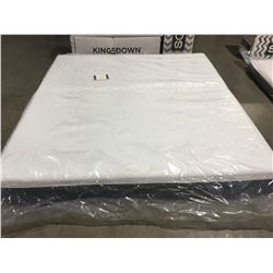 "KING SIZE KINGSDOWN 10"" MEMORY FOAM MATTRESS IN A BOX"