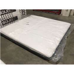"KING SIZE KINGSDOWN 7"" MEMORY FOAM MATTRESS IN A BOX"