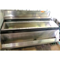 Stainless Steel Freezer Compartment w/ Drain