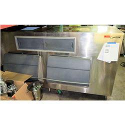 Double Door Upright Ice Storage Bins