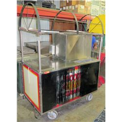 Precision Carts Rolling Hot Dog Maker Machine