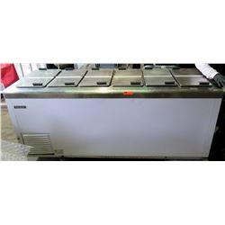 Nelson 12 Door Cold Plate Cabinet Ice Cream Freezer